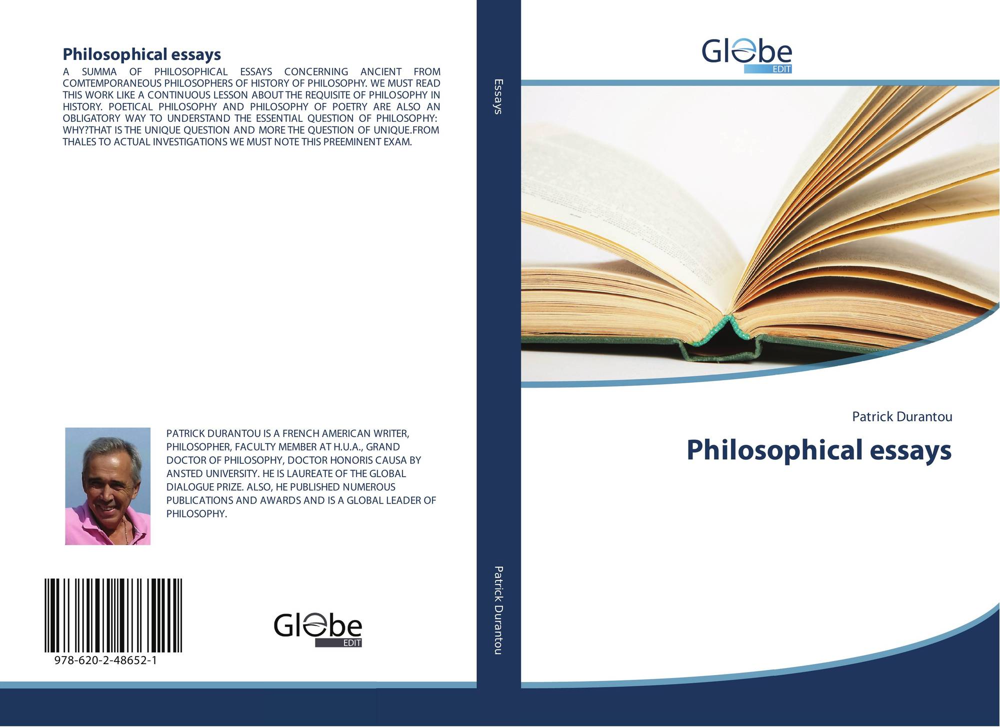 Philosophical Essays  X   Bookcover Of Philosophical Essays  Essay Writing Thesis Statement also Examples Of Good Essays In English  How To Write A Business Essay