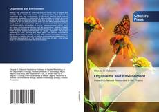 Bookcover of Organisms and Environment