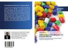 Bookcover of Thermodynamics Behavior for Polymer Blends