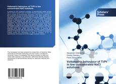 Bookcover of Voltametric behaviour of Ti/Pt in low concentrated NaCl solutions