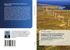 Bookcover of Impact of Rural Development Initiatives on Cooperatives