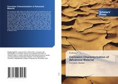 Bookcover of Corrosion Characterization of Advanced Material