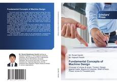 Bookcover of Fundamental Concepts of Machine Design