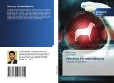 Bookcover of Veterinary Forensic Medicine