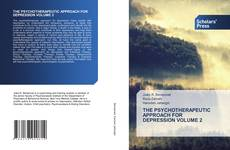 Bookcover of THE PSYCHOTHERAPEUTIC APPROACH FOR DEPRESSION VOLUME 2