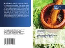 Bookcover of Medicinal Plants of Tharu Community of Nepal