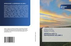 Bookcover of APPROACHES To DEPRESSION VOLUME 2