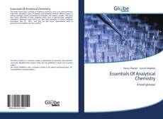 Bookcover of Essentials Of Analytical Chemistry