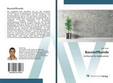 Bookcover of Baustoffkunde