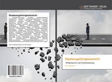 Bookcover of Staatsangehörigkeitsrecht