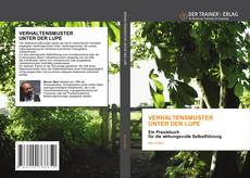 Bookcover of VERHALTENSMUSTER UNTER DER LUPE