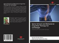 Bookcover of Spine School and Behavioral Cognitive Therapy for Lombalgia
