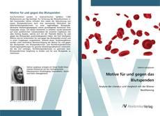 Обложка Motive für und gegen das Blutspenden