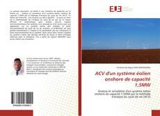 Обложка ACV d'un système éolien onshore de capacité 1,5MW