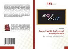 Bookcover of Genre, Egalité des Sexes et développement