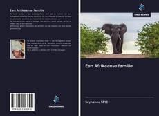 Обложка Een Afrikaanse familie