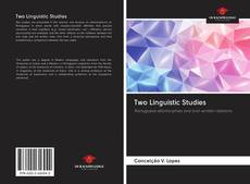 Bookcover of Two Linguistic Studies