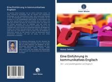 Bookcover of Eine Einführung in kommunikatives Englisch