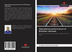 Bookcover of Operational performance of Brazilian railroads
