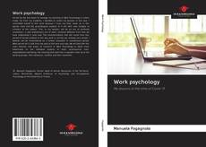 Bookcover of Work psychology