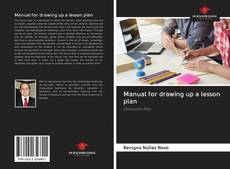 Bookcover of Manual for drawing up a lesson plan