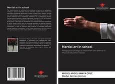 Bookcover of Martial art in school