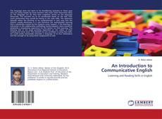 Обложка An Introduction to Communicative English