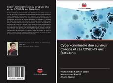 Bookcover of Cyber-criminalité due au virus Corona et cas COVID-19 aux États-Unis