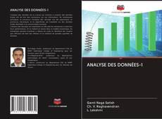Bookcover of ANALYSE DES DONNÉES-1