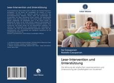 Обложка Lese-Intervention und Unterstützung