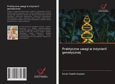 Обложка Praktyczne uwagi w inżynierii genetycznej