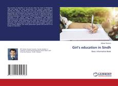 Bookcover of Girl's education in Sindh