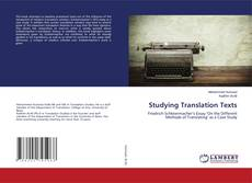 Bookcover of Studying Translation Texts
