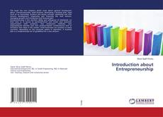 Bookcover of Introduction about Entrepreneurship