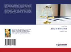 Bookcover of Law & Insurance