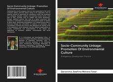 Bookcover of Socio-Community Linkage: Promotion Of Environmental Culture