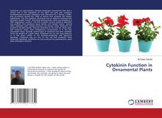 Обложка Cytokinin Function in Ornamental Plants