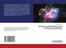 Обложка Privacy and Data Recovery in Cloud Computing