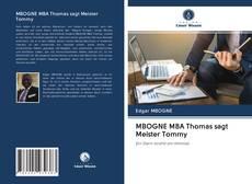 Обложка MBOGNE MBA Thomas sagt Meister Tommy