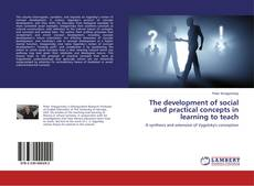 Capa do livro de The development of social and practical concepts in learning to teach