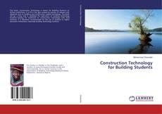 Buchcover von Construction Technology for Building Students