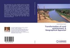 Buchcover von Transformation of rural environment: A Geographical Appraisal