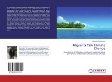 Portada del libro de Migrants Talk Climate Change