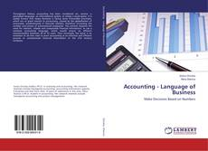 Bookcover of Accounting - Language of Business