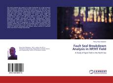 Buchcover von Fault Seal Breakdown Analysis in HP/HT Field