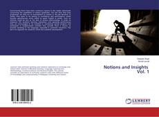 Buchcover von Notions and Insights Vol. 1