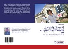 Обложка Succession Rights of Nigerian Widows and Daughters in Post Anekwe Era