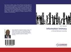 Portada del libro de Information Intimacy