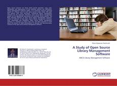 A Study of Open Source Library Management Software kitap kapağı