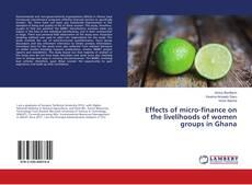Copertina di Effects of micro-finance on the livelihoods of women groups in Ghana